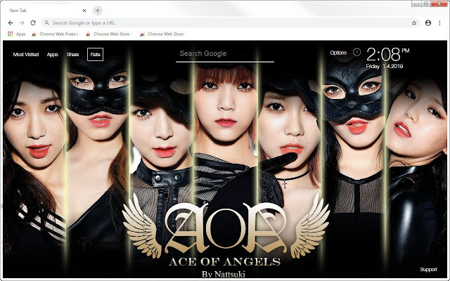 Kpop Aoa Hd Wallpapers New Tab Themes Hd Wallpapers