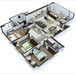 3d house plan android apps on google play for Simulation plan maison