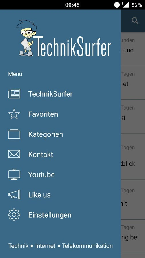 TechnikSurfer- screenshot