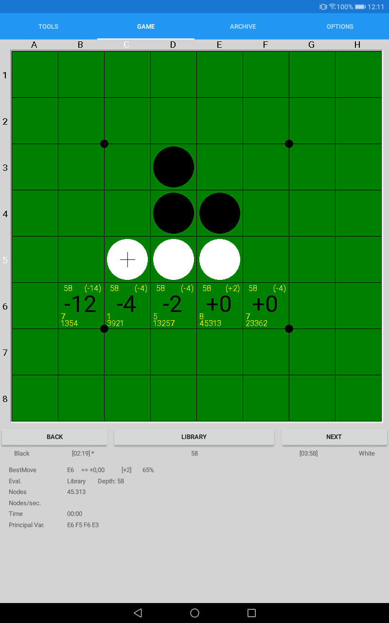 SaioApp - The strongest Othello engine Screenshot 9