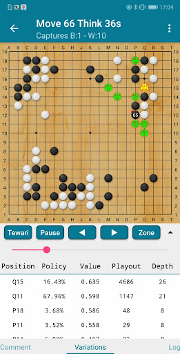 Ah Q Go - AlphaGo Deep Learning technology 2.4.9 APK MOD screenshots 1