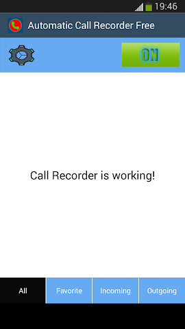 android Automatic Call Recorder Free Screenshot 2