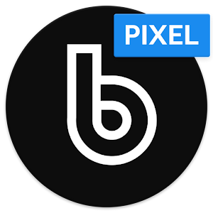 Delux Black Pixel - S9 Icon Pack APK Cracked Download
