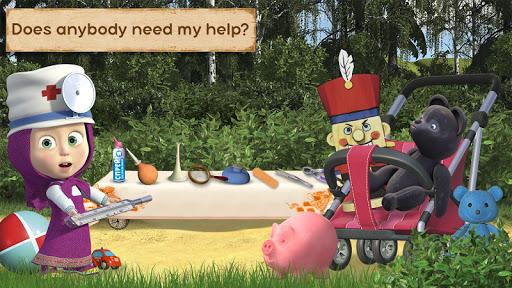 Masha and the Bear: Toy doctor 1.0.8 screenshots 16
