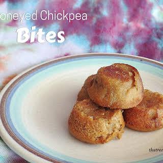 Honeyed Chickpea Bites.