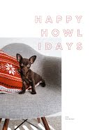 Happy Howlidays - Christmas Card item