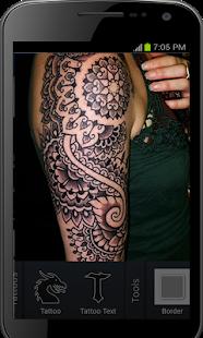 Úžasný Fotoaparát Tetování - Tetování Design - náhled