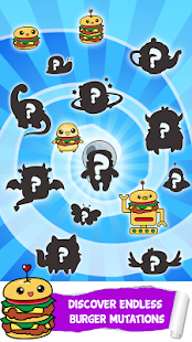 Burger Food Evolution Clicker - náhled