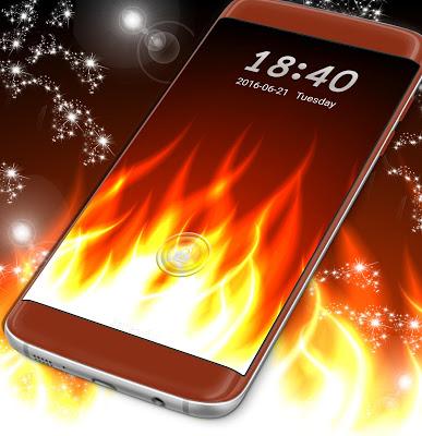 Fire Locker Theme - screenshot