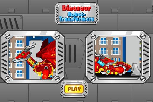 Dinosaur Robot Transformers