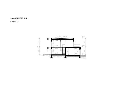 Koncept-52 B2 - Przekrój