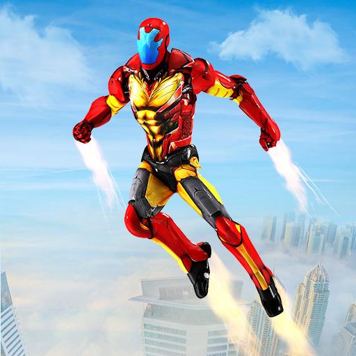 Superheroes Flying Adventure: Superhero Games (game)