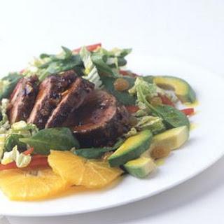 Island Pork Tenderloin Salad recipe   Epicurious.com.