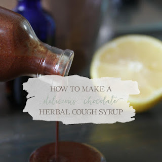 How To Make Chocolate Herbal Cough Syrup.