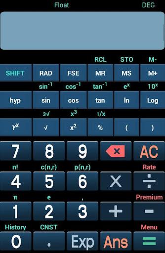 Scientific Calculator Free 1.0 screenshots 2