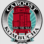 Logo for Caboost Kombucha