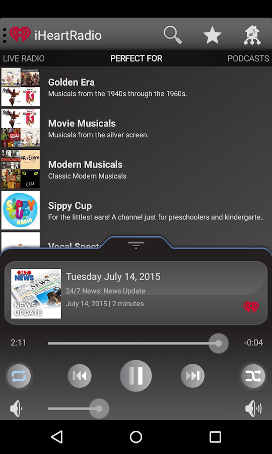 Bluesound- screenshot