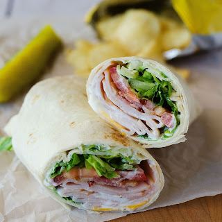 Turkey Ranch Club Wraps Recipe