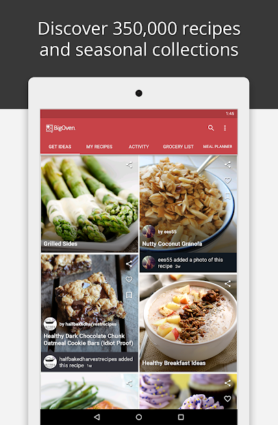BigOven Recipes, Meal Planner, Grocery List & More screenshot 10