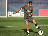 Luis Suarez valt geblesseerd uit op training Atlético