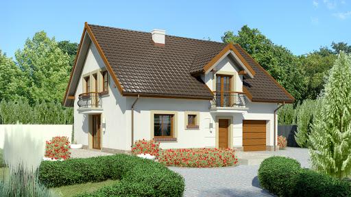 projekt Dom przy Alabastrowej 35
