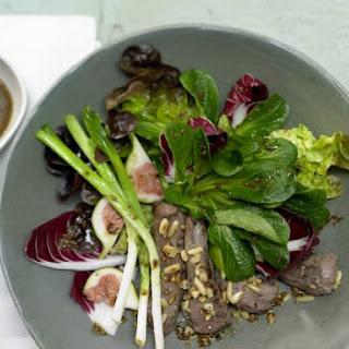 Autumn Salad with Lamb Fillet