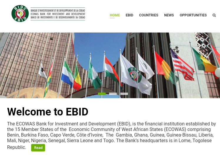 ecowas bank for investment and development vacancies