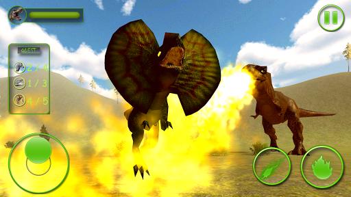 Real Dinosaur Simulator Games u2013 Dino Attack 3D 1.4 screenshots 2
