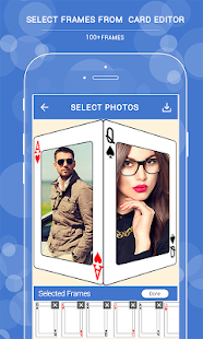 Playing Card Photo Editor - náhled
