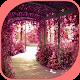 Deep Pink Flower in Garden