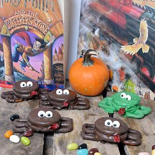 Chocolate Frogs #thebookclubcookbookCC
