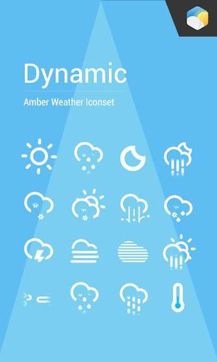 Dynamic Animated weather icon