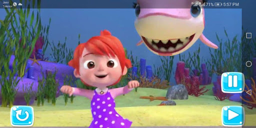 The Baby Shark - Kids song App  screenshots 2