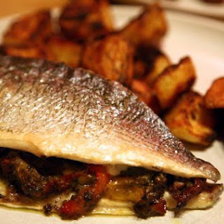 Roasted Sea Bream With Anchoiade