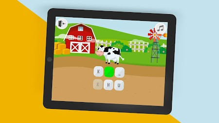 Krakeln: alphabet learning abc preschool game APK screenshot thumbnail 1
