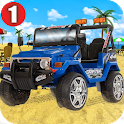 Beach Car Driving Game -monster Truck Driver icon