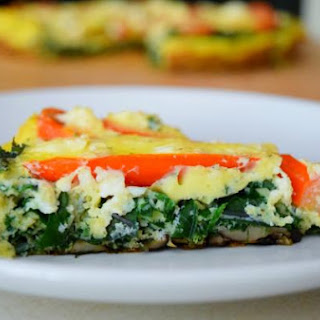 Farmer's Strata with Kale and Tomatoes