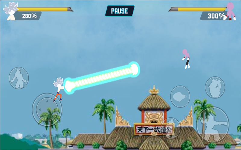Z Stick: Battle of Dragon Super Warrior Screenshot 4