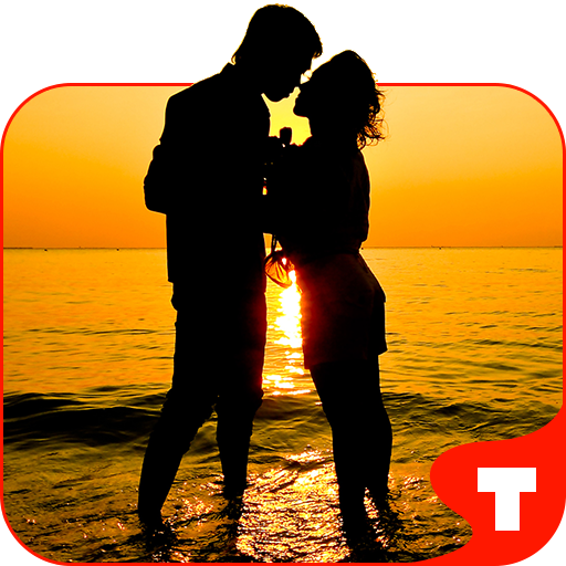 个人化のCouple in Love Theme GO ADW LOGO-記事Game