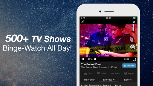 FREECABLE TV App: Free TV Shows, Free Movies, News 6.97 screenshots 10