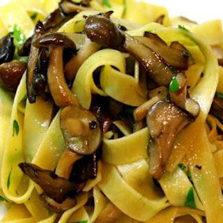 Tagliatelle of Mushroom.
