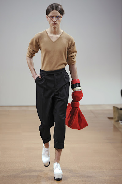 Photo: LOOK NINE J.W.ANDERSON AW 2014 MENS SHOW http://www.j-w-anderson.com/1/fall-2014/collection.html