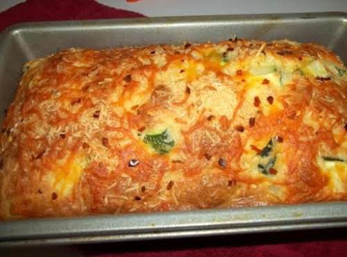 "Click Here for Recipe: Zucchini - Parm - Bacon Bread ""It's a..."