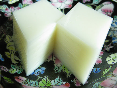 chinese Almond Bean Curd Dessert recipe