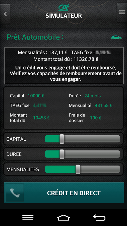 CA POCKET - CENTRE EST- screenshot