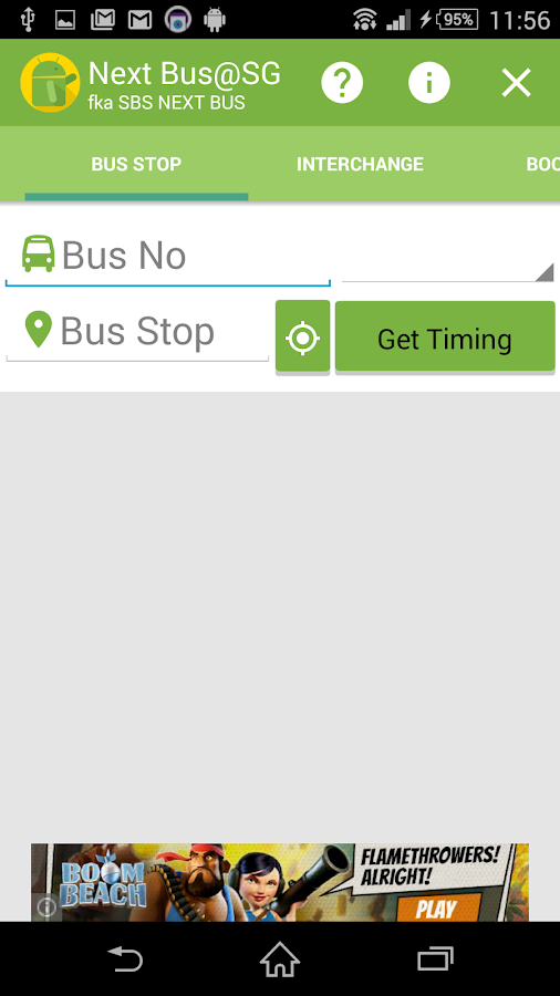 Next Bus@SG (fka SBS Next Bus)- screenshot