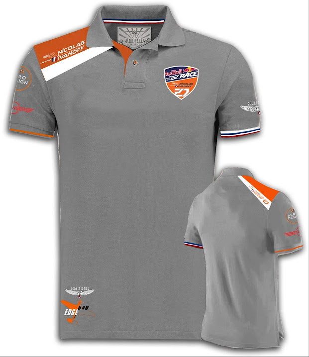 redoul air race nicolas ivanoff barnstormer  polo homme