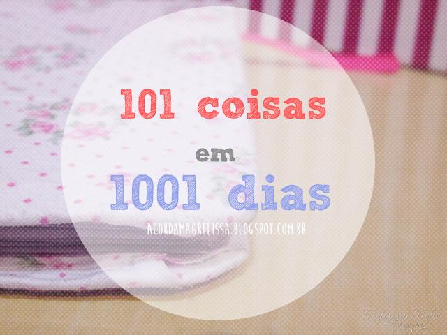 101 coisas 1001 dias
