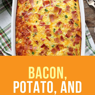 Bacon, Potato, and Egg Casserole.