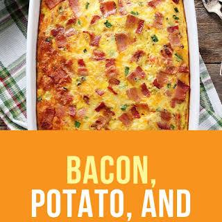 Bacon, Potato, and Egg Casserole.